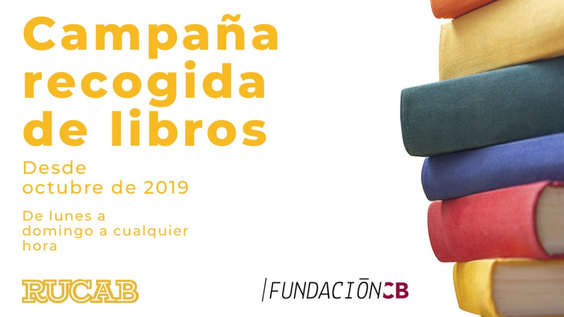 campaña recogida de libros de fundación cb y rucab