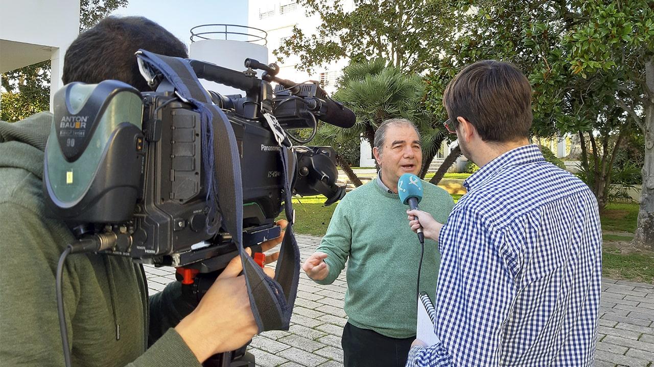 Marcelino Núñez entrevistado por Canal Extremadura