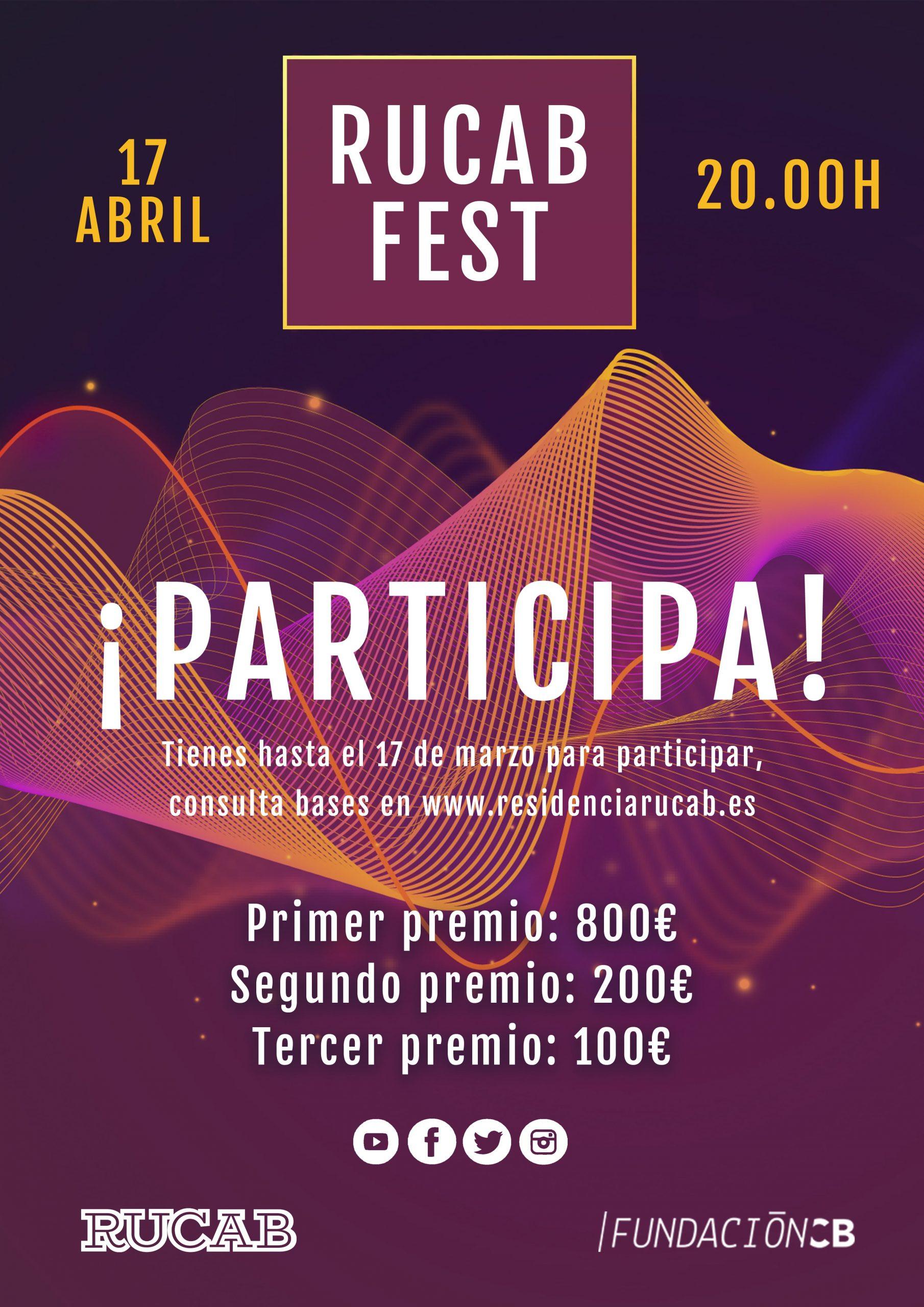 Cartel RUCAB FEST