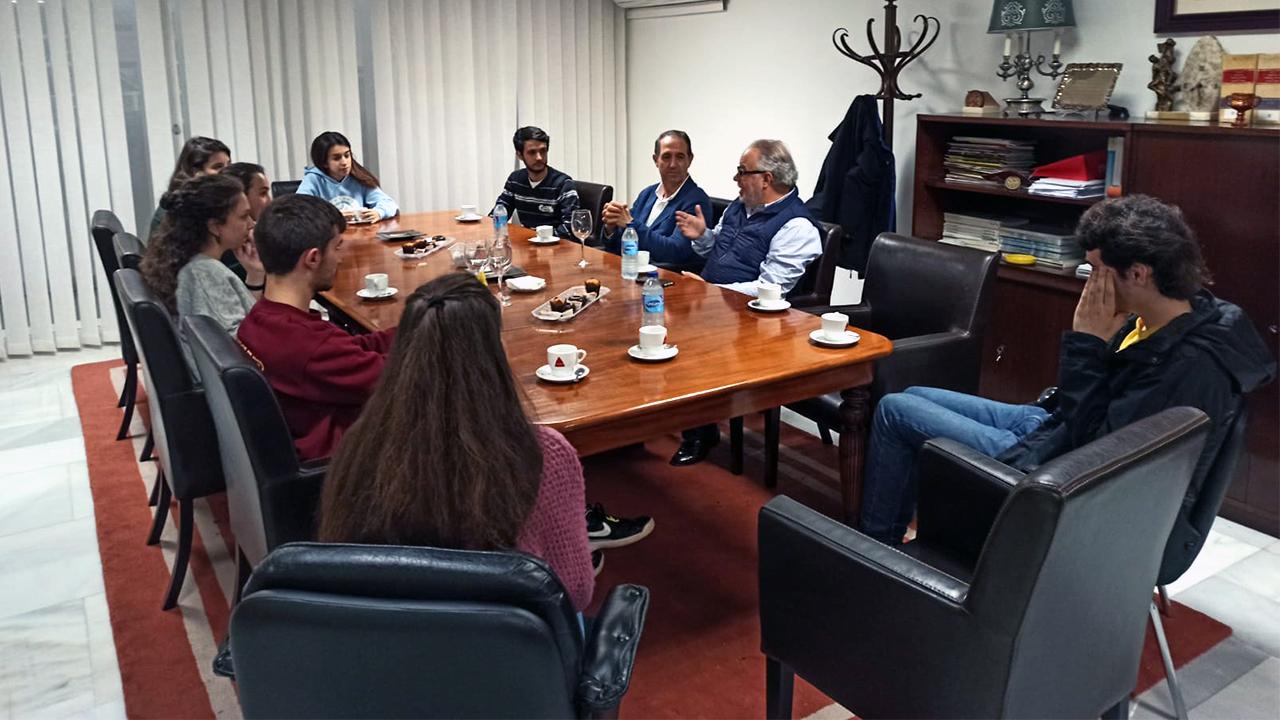Charla sobre coronvirus con Agustín Muñoz