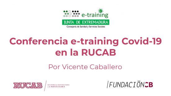e-training covid-19 por Vicente Caballero