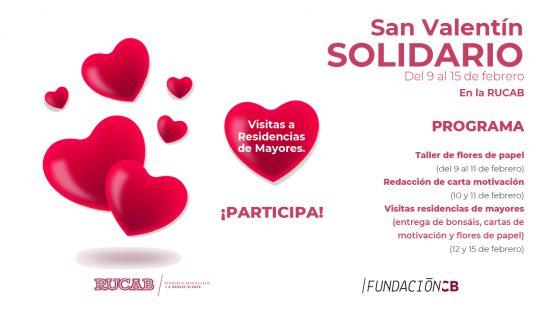 San Valentín Solidario en la RUCAB 2021
