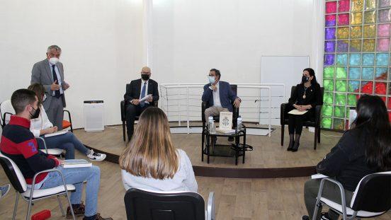 Gerardo Blanco en la RUCAB, Discursos de ingreso 2019