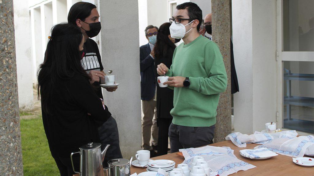 café tertulia Academia de Medicina de Extremadura